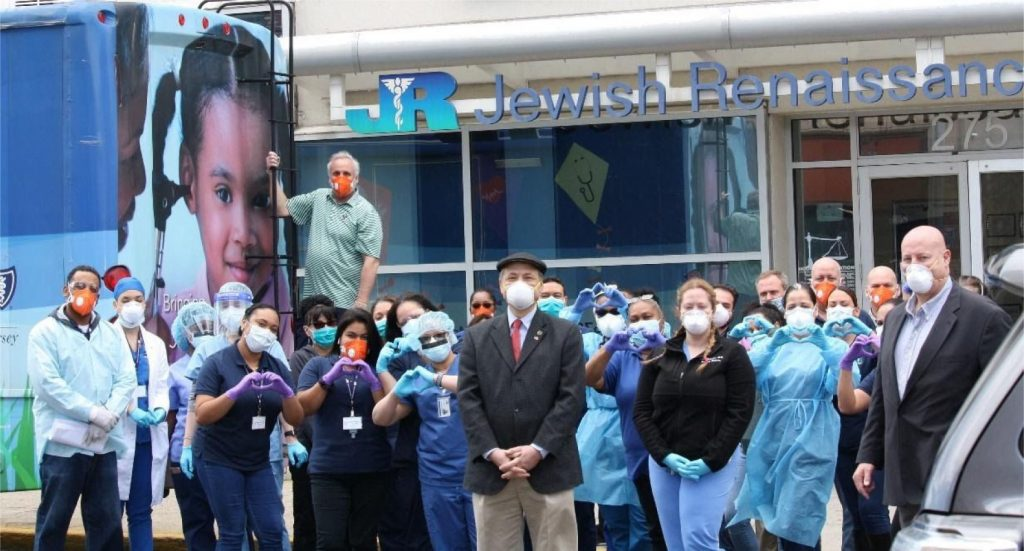Perth Amboy Councilman Praises JRMC Efforts During COVID-19 Pandemic