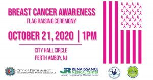 JRMC Breast Cancer Awareness Flag Raising